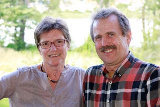 Lene Fruelund og Jørgen Madsen
